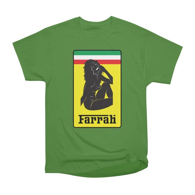 Farrah Women's Classic Unisex T-Shirt by Zachary Knight | Artist Shop