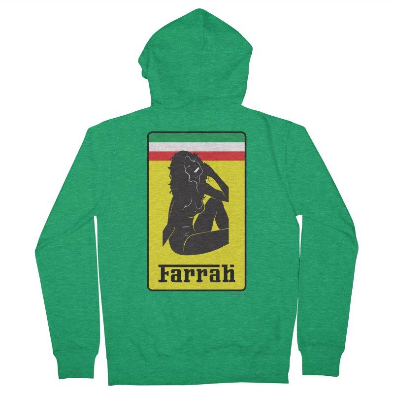 Farrah Women's Zip-Up Hoody by Zachary Knight   Artist Shop