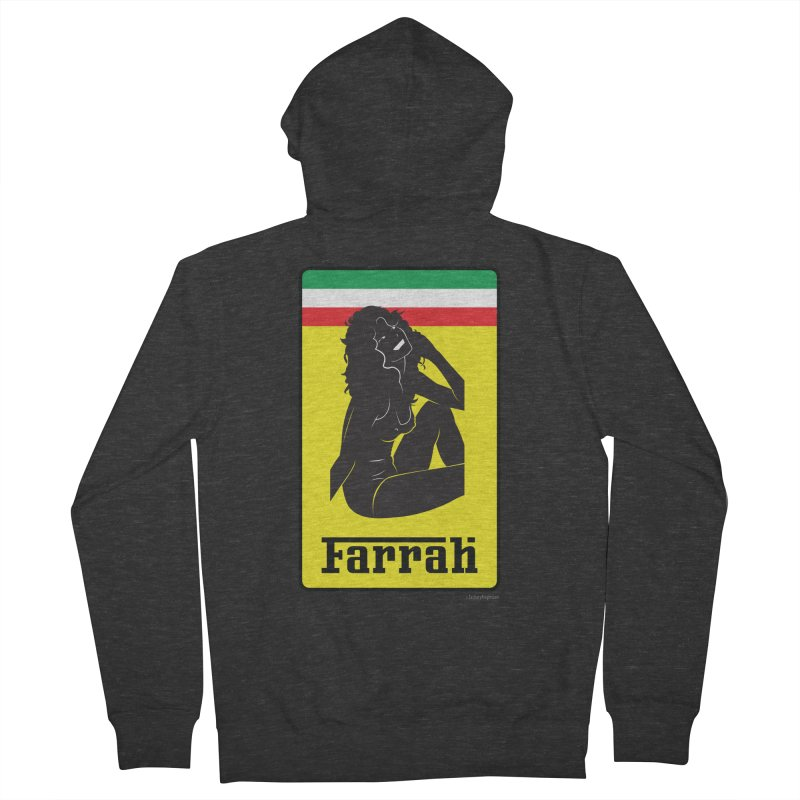 Farrah Men's French Terry Zip-Up Hoody by Zachary Knight   Artist Shop
