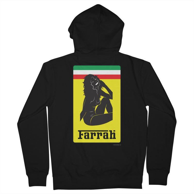 Farrah Men's Zip-Up Hoody by Zachary Knight | Artist Shop