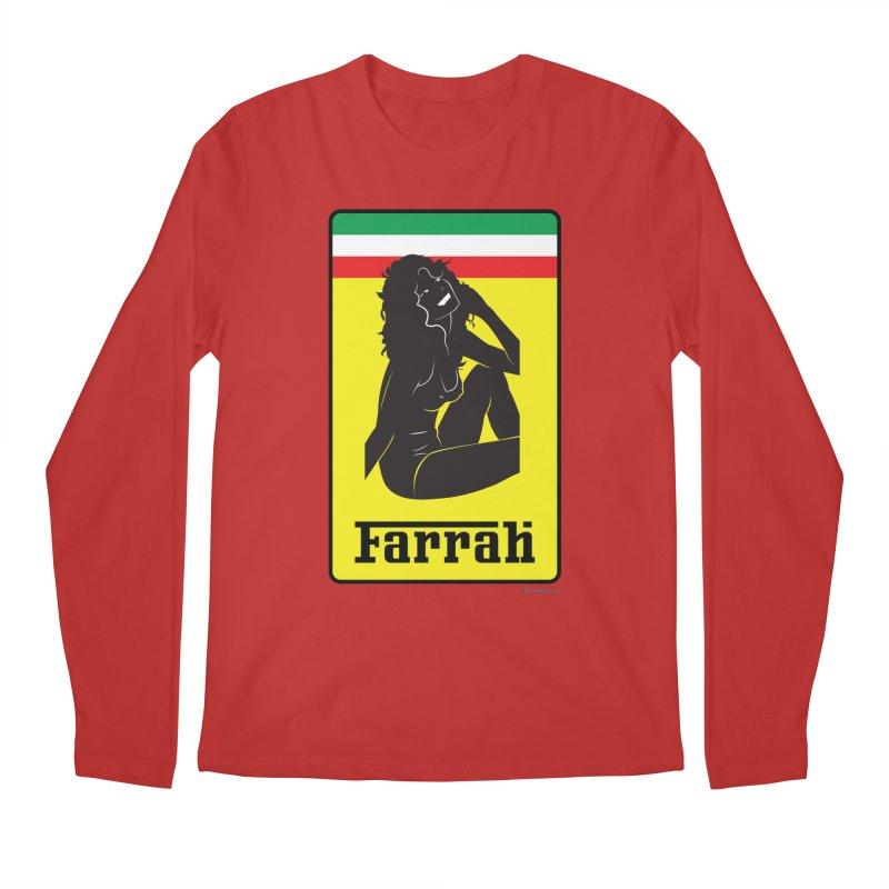 Farrah Men's Longsleeve T-Shirt by Zachary Knight | Artist Shop