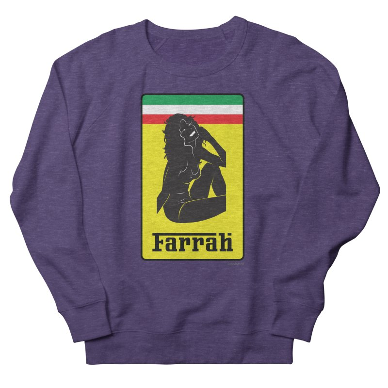 Farrah Women's French Terry Sweatshirt by Zachary Knight | Artist Shop