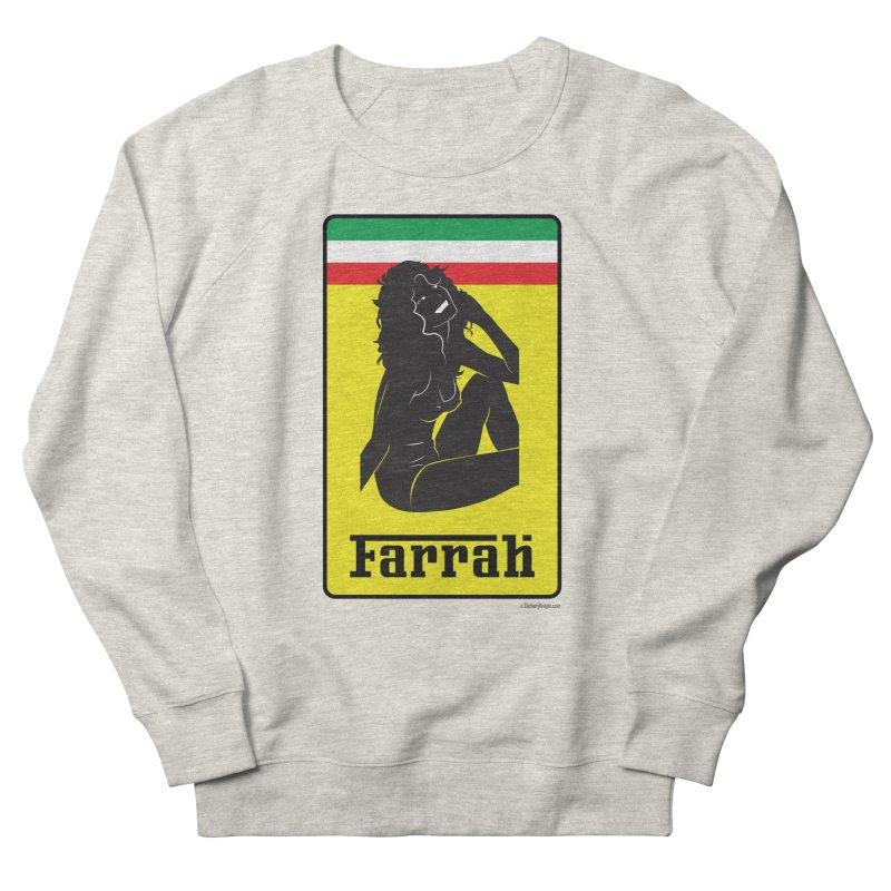 Farrah Men's French Terry Sweatshirt by Zachary Knight | Artist Shop