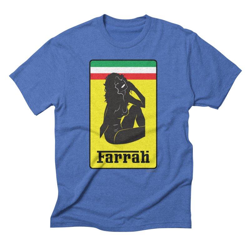 Farrah Men's Triblend T-Shirt by Zachary Knight | Artist Shop