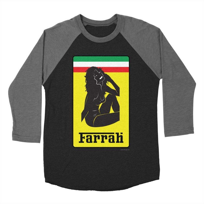 Farrah Women's Baseball Triblend Longsleeve T-Shirt by Zachary Knight | Artist Shop
