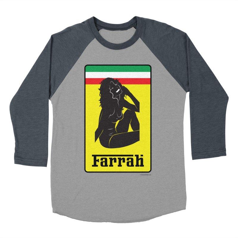 Farrah Men's Baseball Triblend T-Shirt by Zachary Knight | Artist Shop