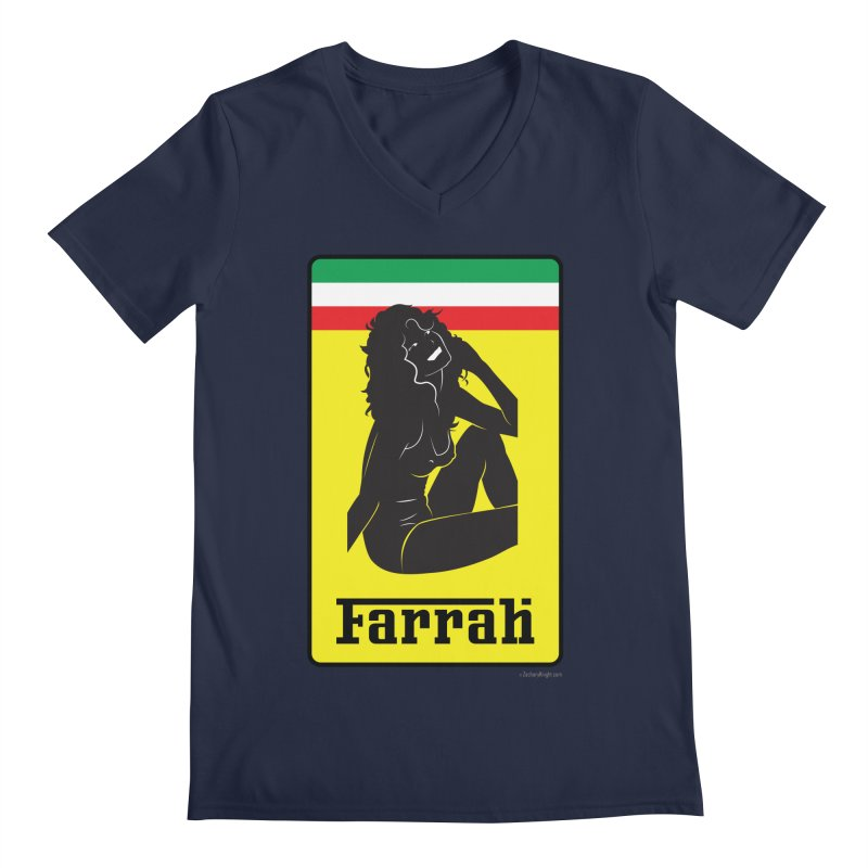 Farrah Men's V-Neck by Zachary Knight | Artist Shop