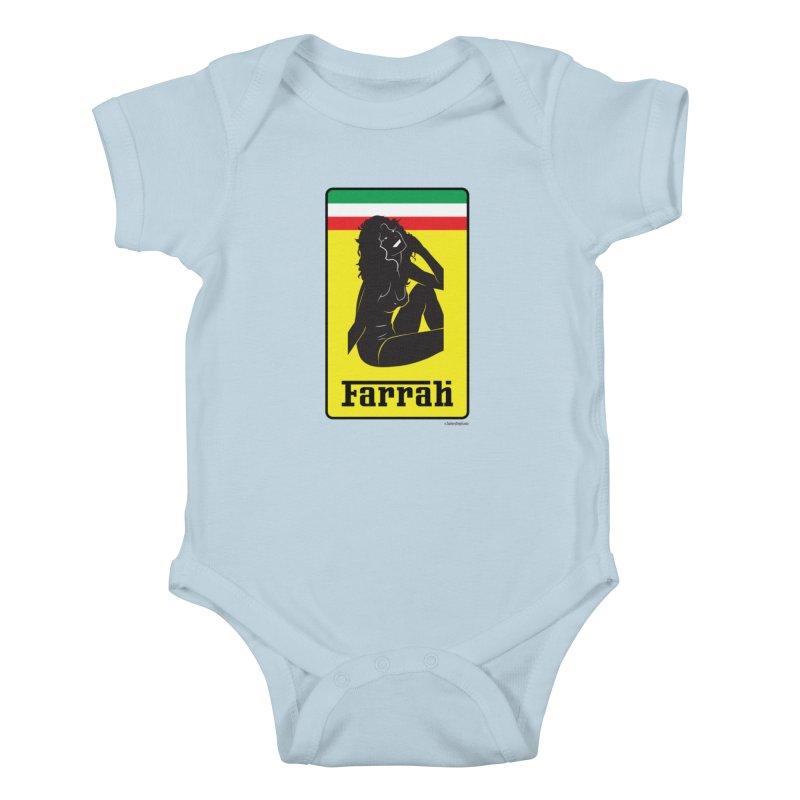Farrah Kids Baby Bodysuit by Zachary Knight | Artist Shop