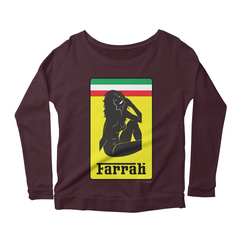 Farrah Women's Scoop Neck Longsleeve T-Shirt by Zachary Knight   Artist Shop