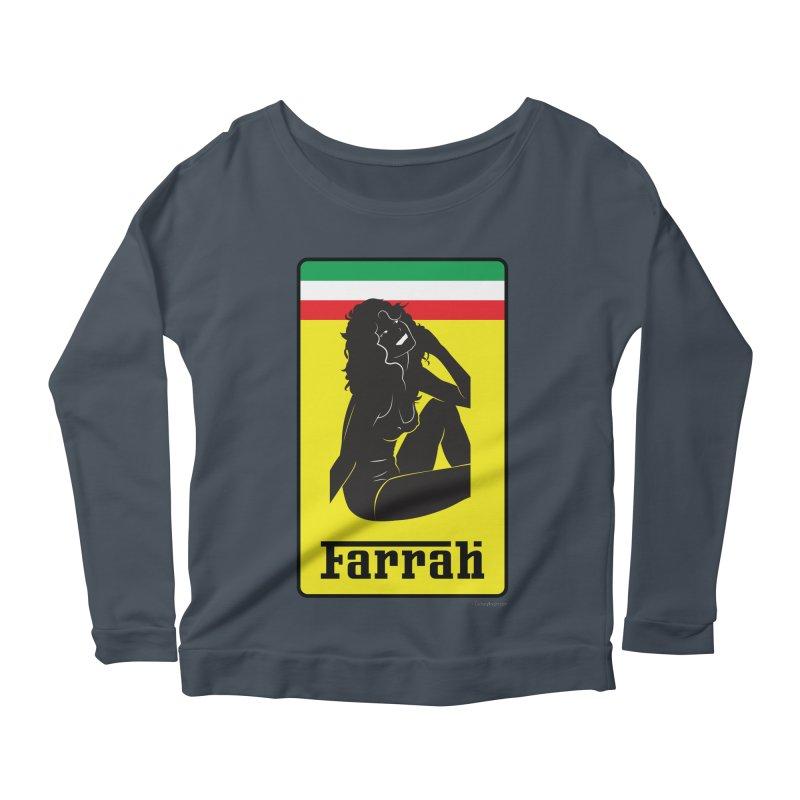 Farrah Women's Scoop Neck Longsleeve T-Shirt by Zachary Knight | Artist Shop
