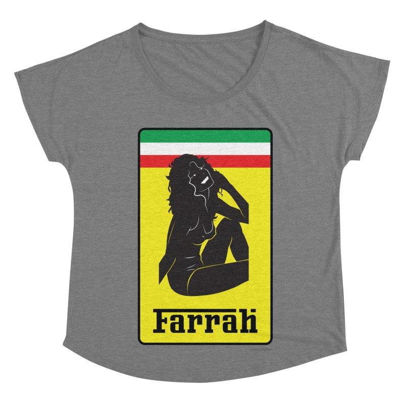 Farrah Women's Scoop Neck by Zachary Knight   Artist Shop