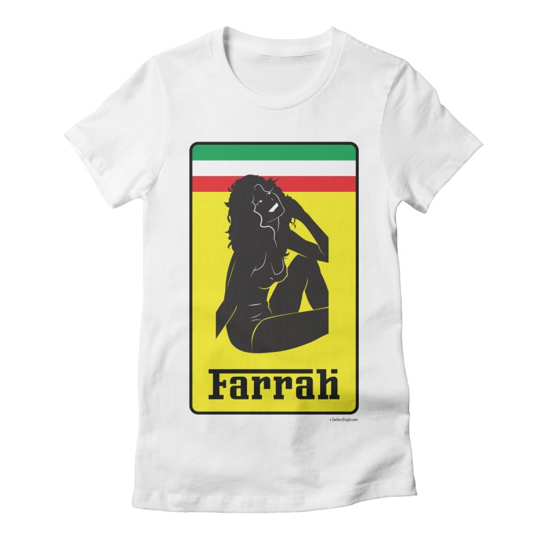 Farrah Women's Fitted T-Shirt by Zachary Knight | Artist Shop