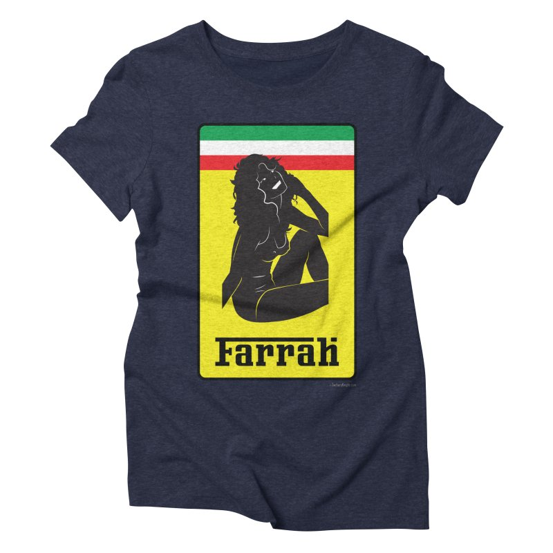 Farrah Women's Triblend T-Shirt by Zachary Knight | Artist Shop
