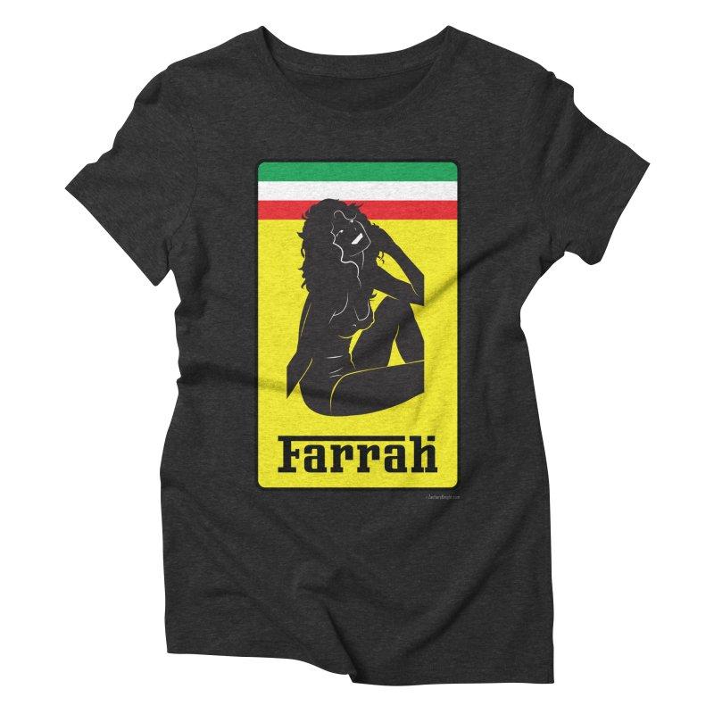 Farrah Women's Triblend T-Shirt by Zachary Knight   Artist Shop
