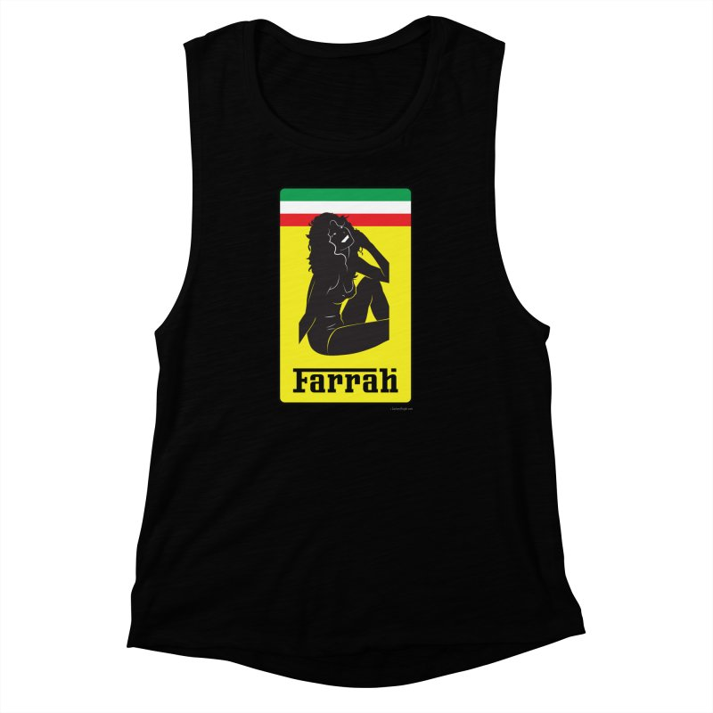 Farrah Women's Muscle Tank by Zachary Knight | Artist Shop