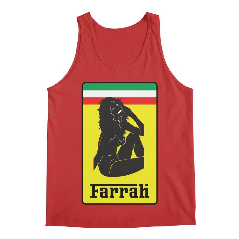 Farrah Men's Regular Tank by Zachary Knight | Artist Shop