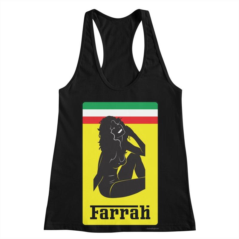 Farrah Women's Racerback Tank by Zachary Knight | Artist Shop
