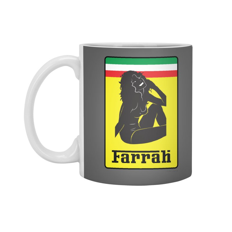 Farrah Accessories Mug by Zachary Knight | Artist Shop