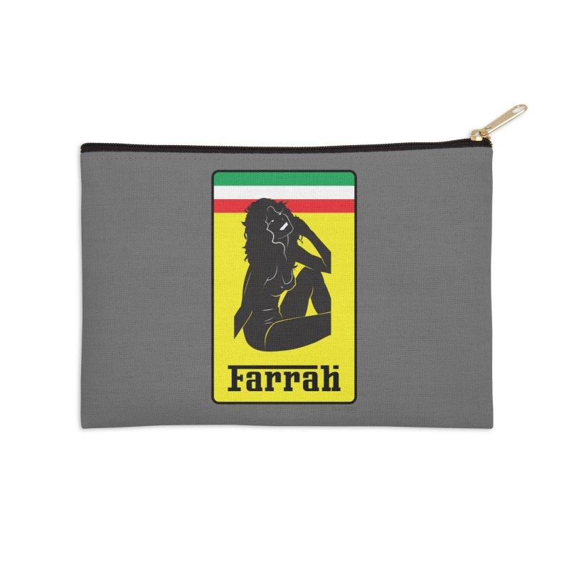 Farrah Accessories Zip Pouch by Zachary Knight | Artist Shop