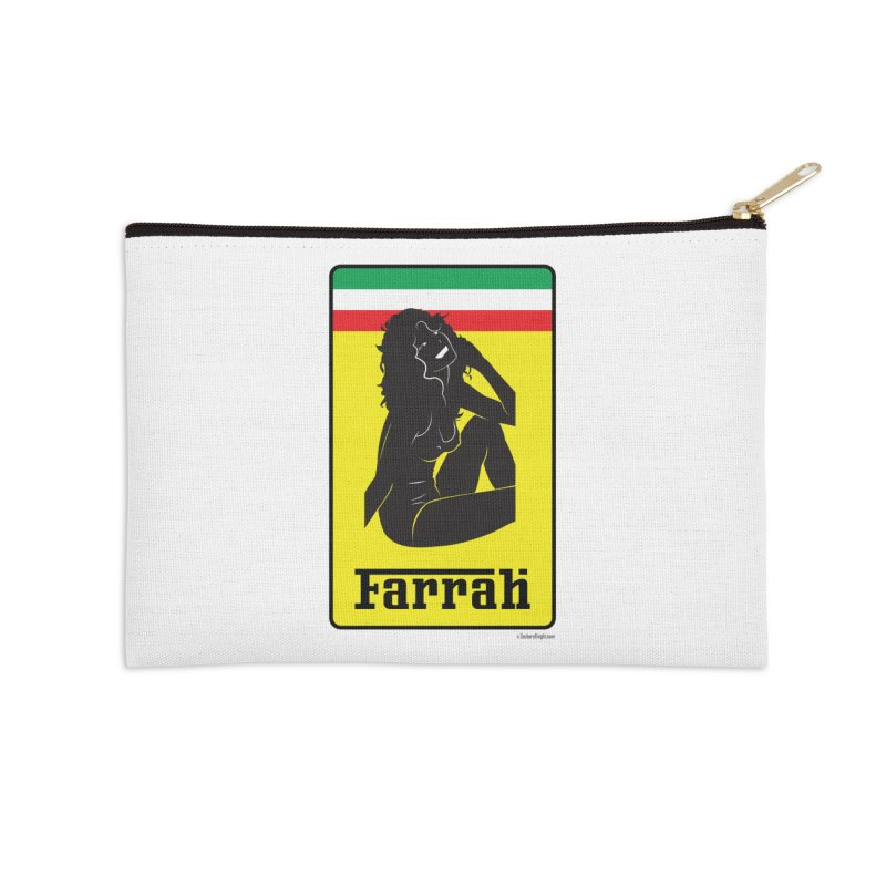 Farrah Accessories Zip Pouch by Zachary Knight | Artist Shop