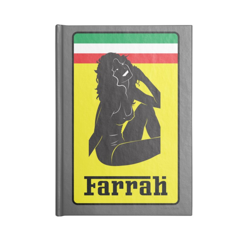 Farrah Accessories Lined Journal Notebook by Zachary Knight | Artist Shop