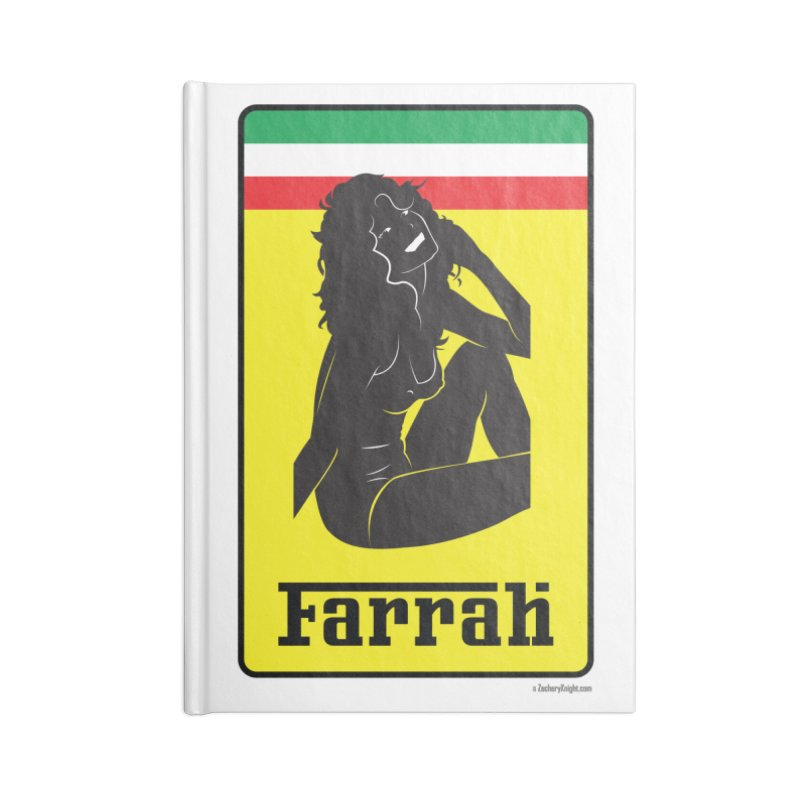 Farrah Accessories Lined Journal Notebook by Zachary Knight | Artist Shop
