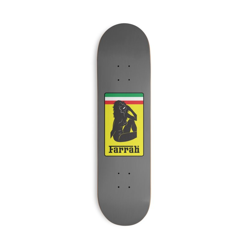 Farrah Accessories Skateboard by Zachary Knight   Artist Shop