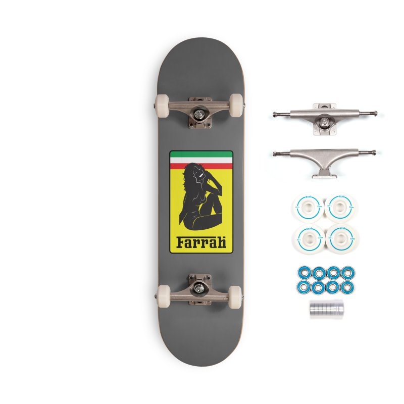 Farrah Accessories Complete - Basic Skateboard by Zachary Knight | Artist Shop