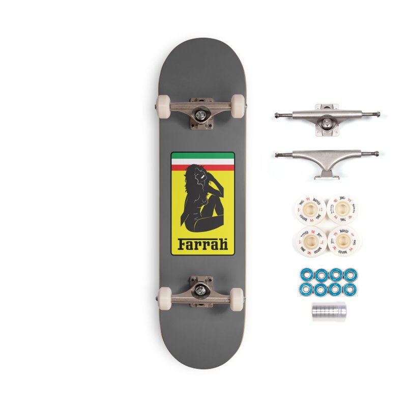 Farrah Accessories Skateboard by Zachary Knight | Artist Shop