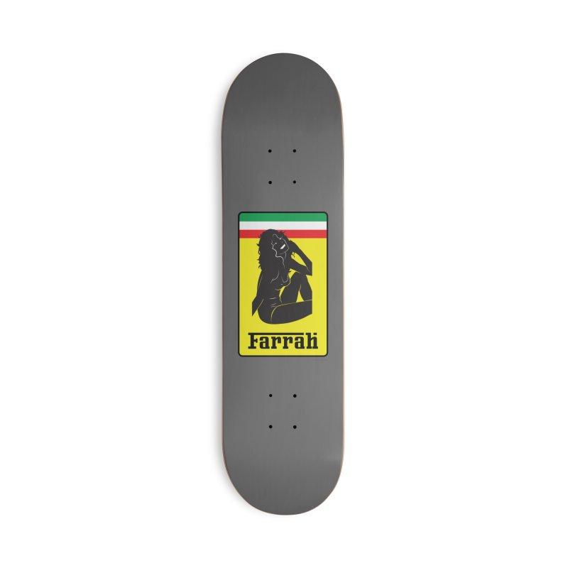 Farrah Accessories Skateboard by Zachary Knight | Artist Shop