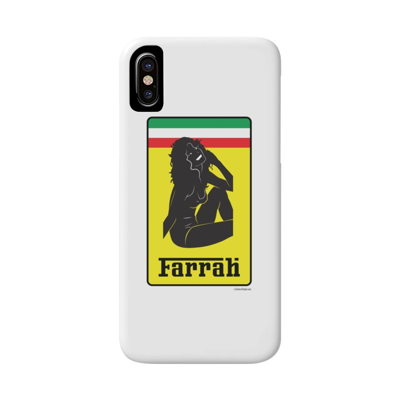 Farrah Accessories Phone Case by Zachary Knight | Artist Shop