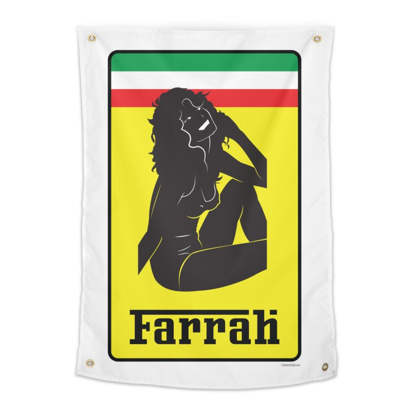 Farrah Home Tapestry by Zachary Knight | Artist Shop