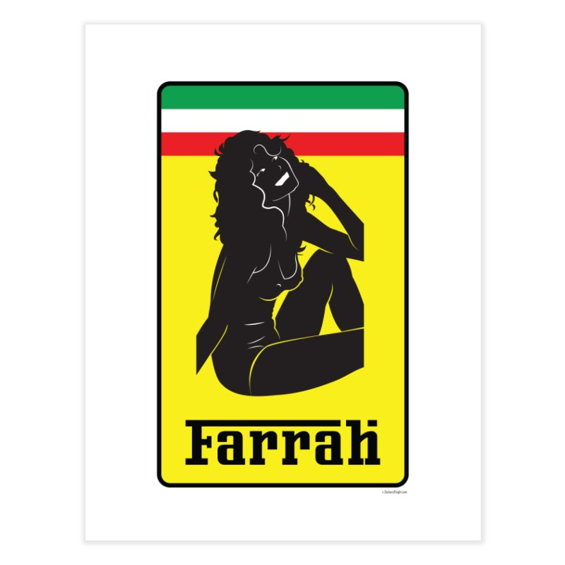 Farrah Home Fine Art Print by Zachary Knight | Artist Shop