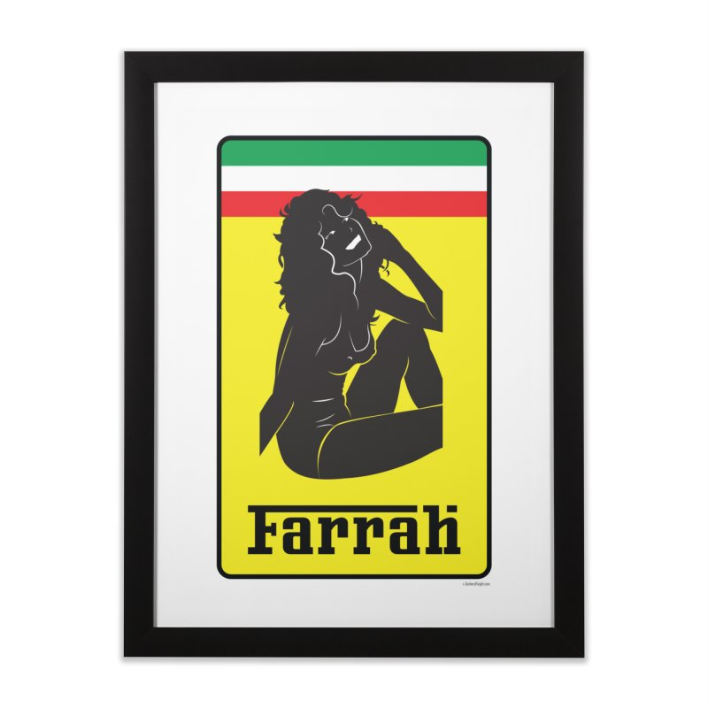 Farrah Home Framed Fine Art Print by Zachary Knight | Artist Shop