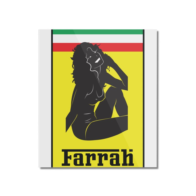 Farrah Home Mounted Acrylic Print by Zachary Knight | Artist Shop
