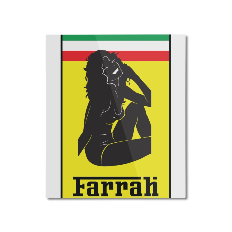Farrah Home Mounted Aluminum Print by Zachary Knight | Artist Shop
