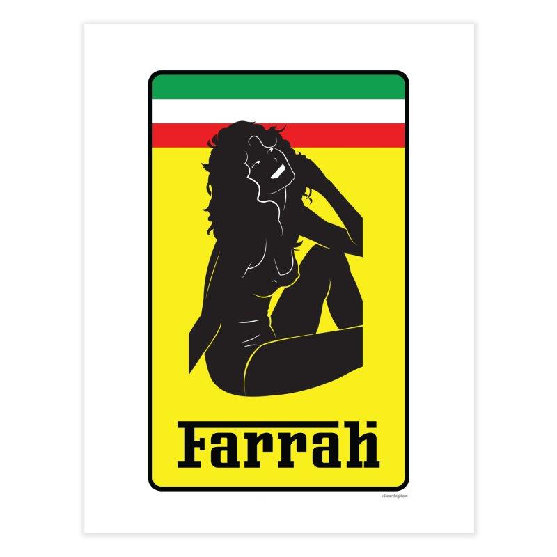 Farrah Home Fine Art Print by Zachary Knight | Artist Shop