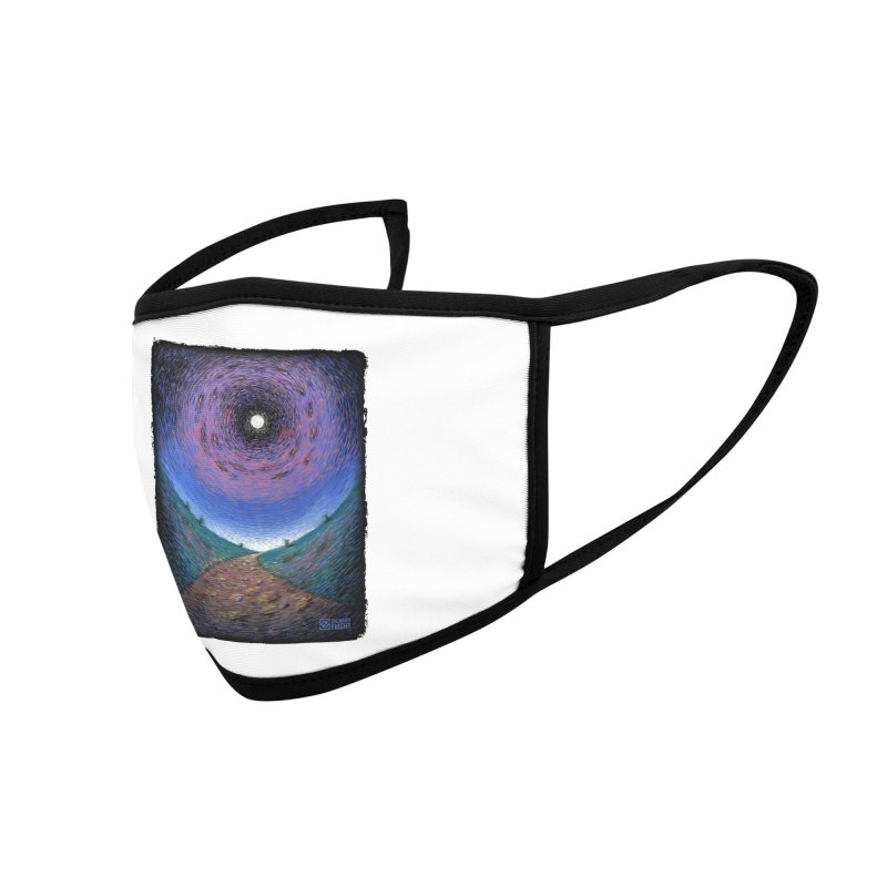 Continuum Accessories Face Mask by Zachary Knight | Artist Shop