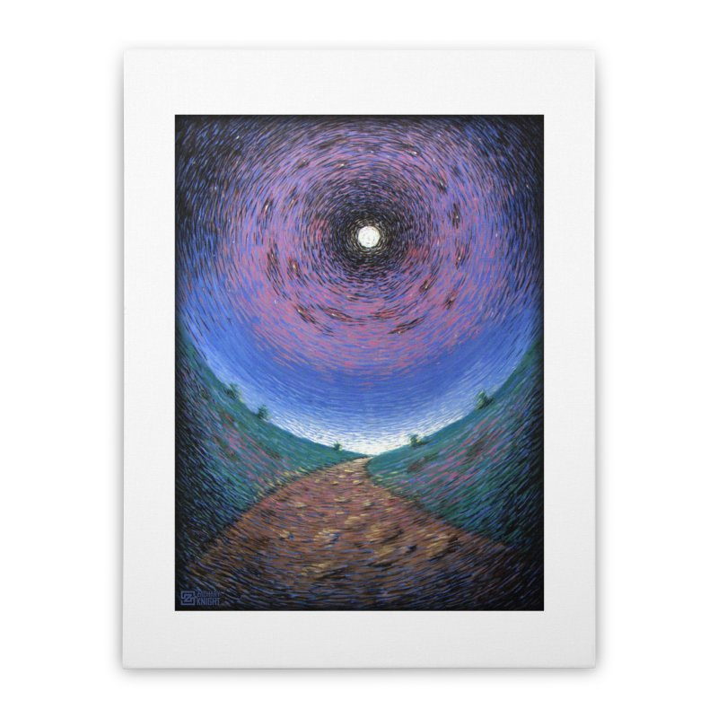 Continuum Home Stretched Canvas by Zachary Knight | Artist Shop