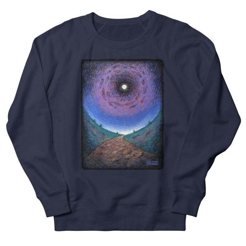 Continuum Women's French Terry Sweatshirt by Zachary Knight | Artist Shop
