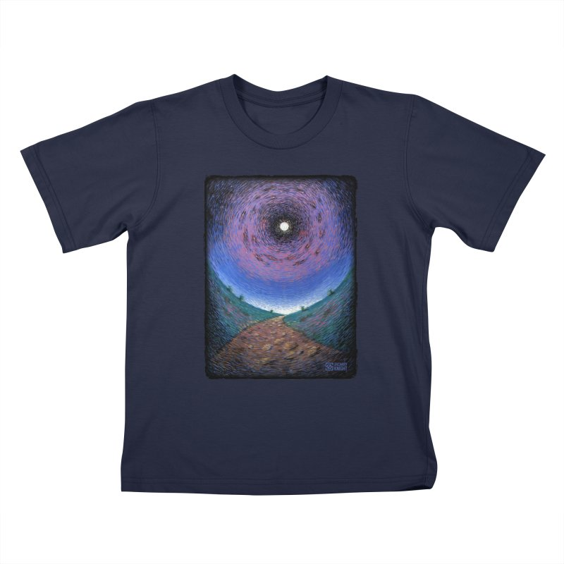 Continuum Kids T-Shirt by Zachary Knight | Artist Shop