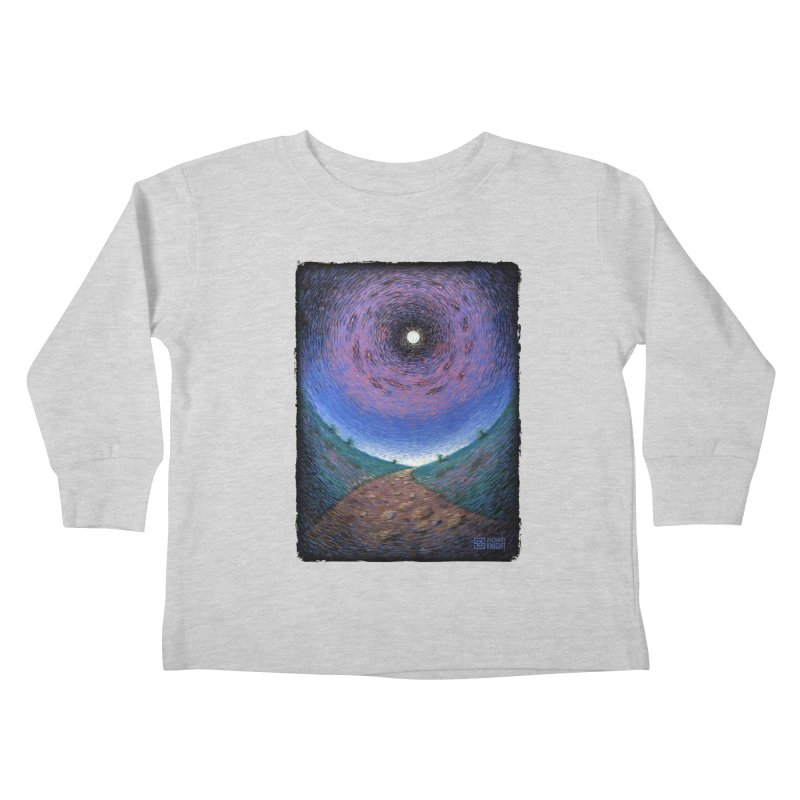 Continuum Kids Toddler Longsleeve T-Shirt by Zachary Knight | Artist Shop