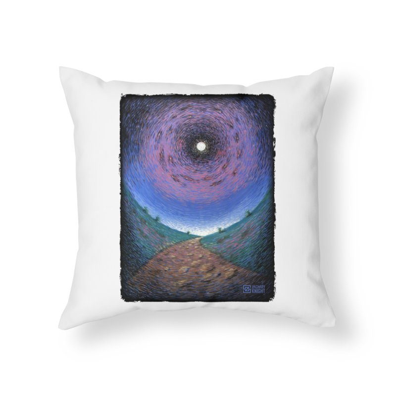 Continuum Home Throw Pillow by Zachary Knight | Artist Shop