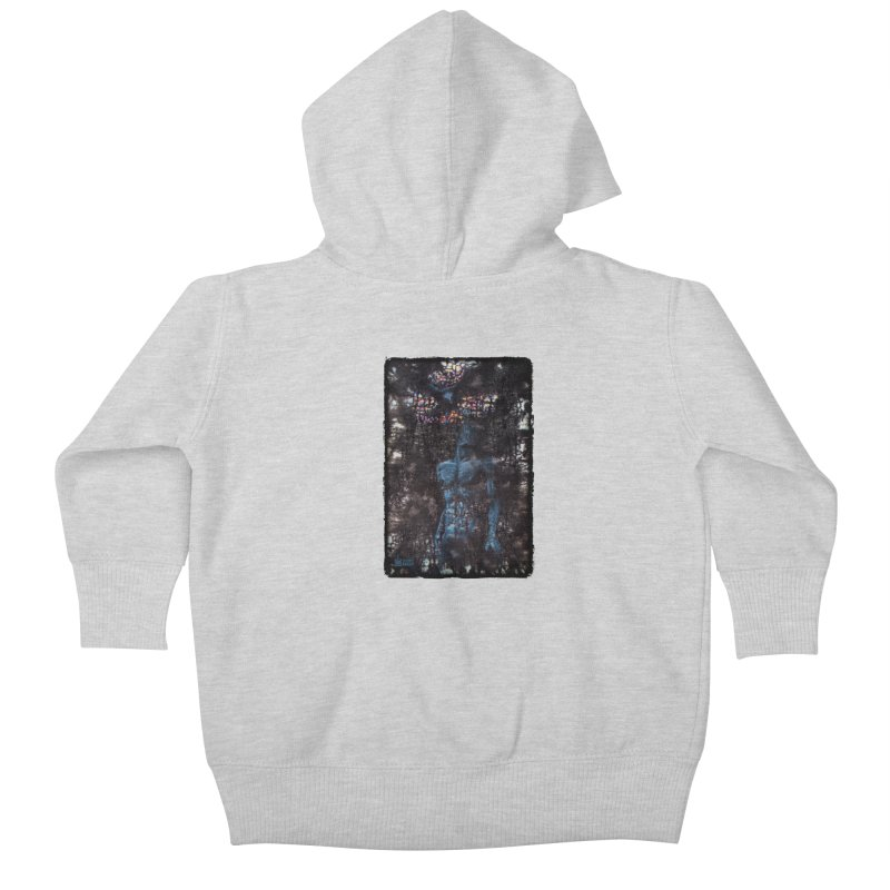 Flesh Kids Baby Zip-Up Hoody by Zachary Knight | Artist Shop