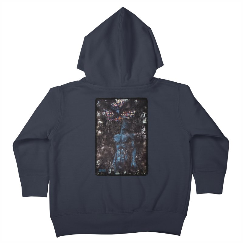 Flesh Kids Toddler Zip-Up Hoody by Zachary Knight | Artist Shop