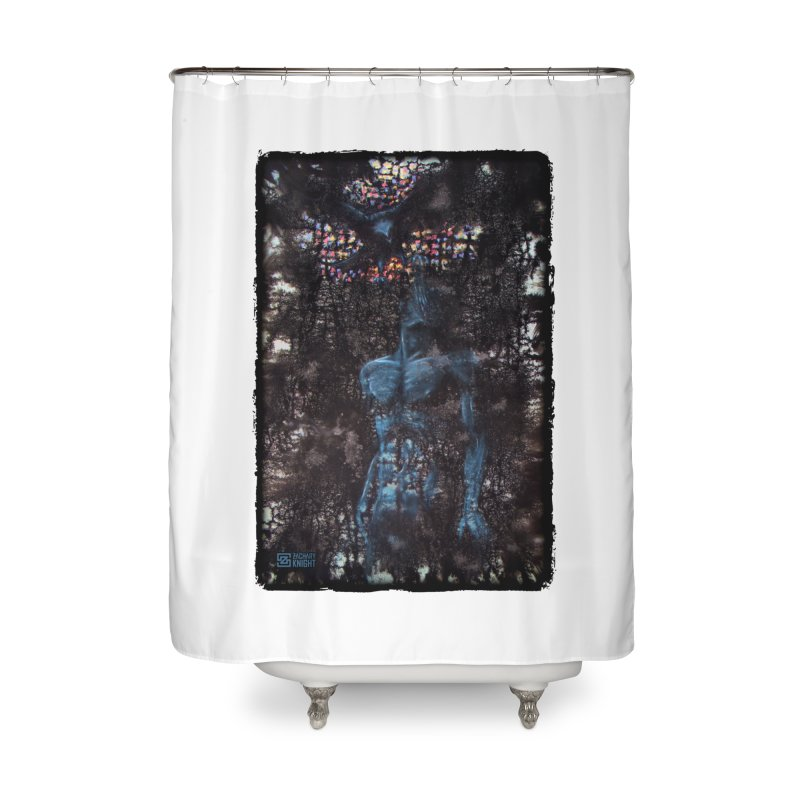 Flesh Home Shower Curtain by Zachary Knight | Artist Shop