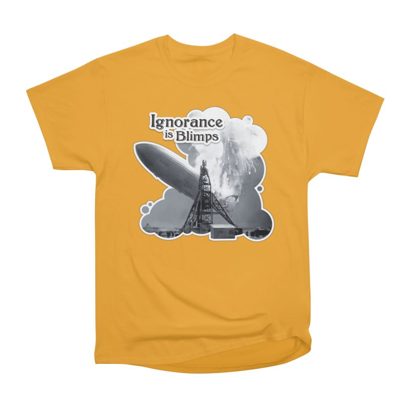 Ignorance Is Blimps Men's T-Shirt by Zachary Knight | Artist Shop