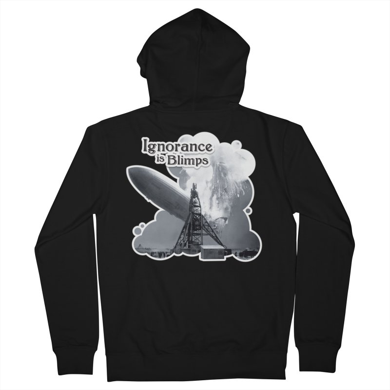 Ignorance Is Blimps Women's Zip-Up Hoody by Zachary Knight | Artist Shop