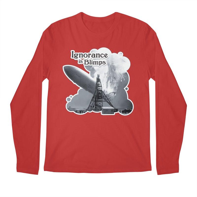 Ignorance Is Blimps Men's Regular Longsleeve T-Shirt by Zachary Knight | Artist Shop