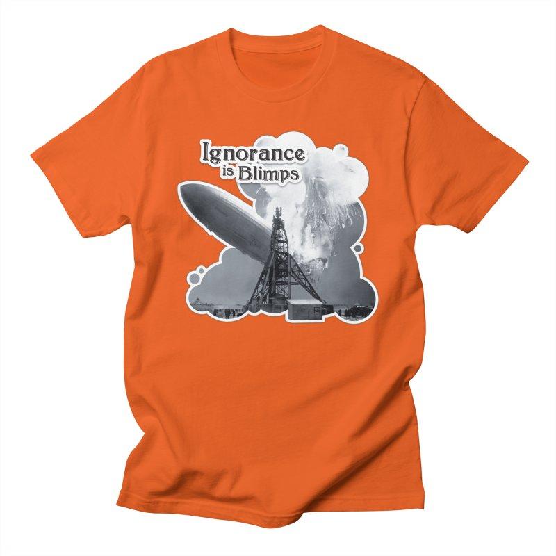 Ignorance Is Blimps Men's Regular T-Shirt by Zachary Knight | Artist Shop